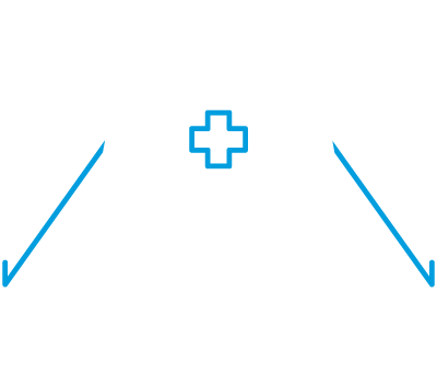 Icon of a medical tent